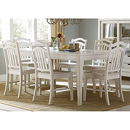 Amazon Com Liberty Furniture Summerhill Dining 7 Piece Rectangular