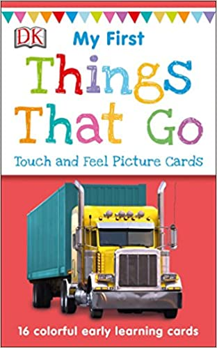 Things That Go My First Touch and Feel Picture Cards