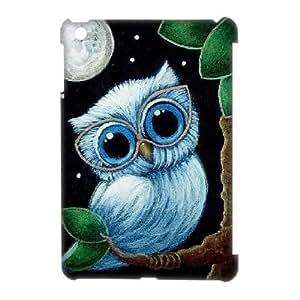 kimcase Custom Owl 3D Cover Case for iPad Mini
