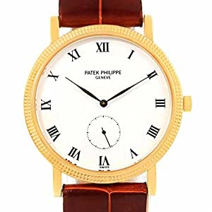 Patek Philippe Calatrava mechanical-hand-wind mens Watch 3919 (Certified Pre-owned)