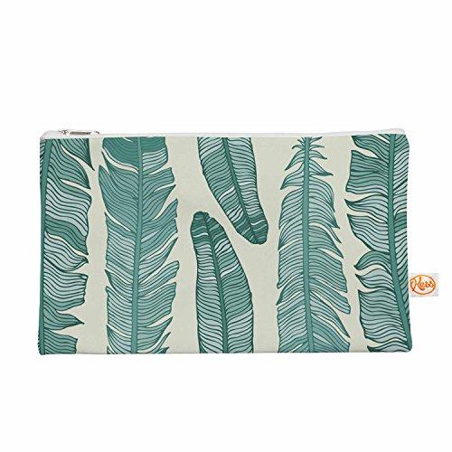 Kess eigene 12,5x 21,6cm Original Balsam Federn Alles Tasche–Beige/Grün