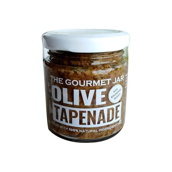 The Gourmet Jar Olive Tapenade with Kalamata Olives, 110g