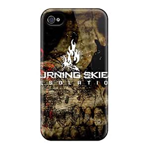 Shockproof Hard Phone Case For Iphone 4/4s (aIV2506YgnG) Unique Design Fashion Avenged Sevenfold Pictures