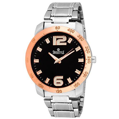 Swisstyle SS-GR080-BLK-CH  Analog Watch For Men