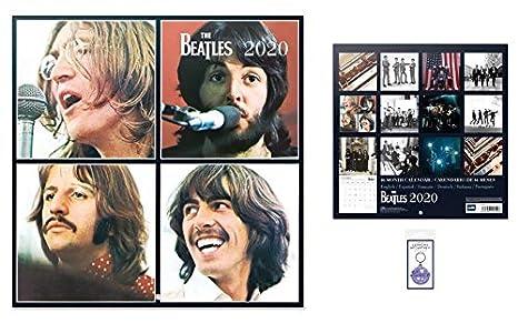 1art1 Los Beatles, Calendario Oficial 2020 (30x30 cm) con 1x ...