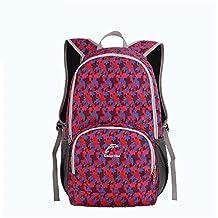 Emintribe Backpack Bags Sports Leisure Amaranth Backpack