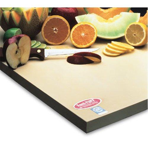 Teknor Apex T45 Sani-tuff Cutting Board, 15'' x 20'' x 1/2'' (Tuff Rubber)