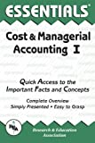 img - for Cost & Managerial Accounting I Essentials (Essentials Study Guides) by William D. Keller Ed.D. (1998-07-30) book / textbook / text book