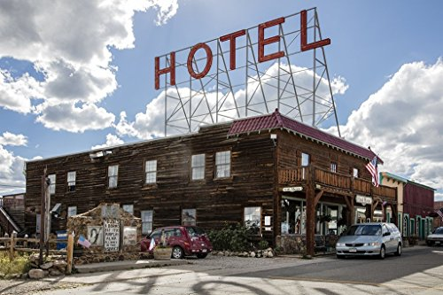 Photograph   The Hand Hotel in Fairplay, Colorado, built in 1931 by Jake and Jessie Hand and was furnished with western and Indian memorabilia  Fine Art Photo Reporduction 66in x 44in ()