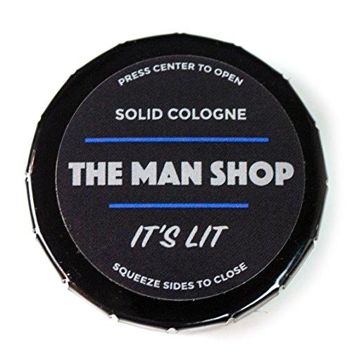 It's Lit Men's Solid Cologne (0.4 oz) The Man Shop