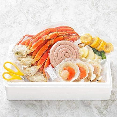 海鮮 バーベキュー セット BBQ 蟹 カニ かに 帆立 ホタテ 北海道 4人前 北国からの贈り物