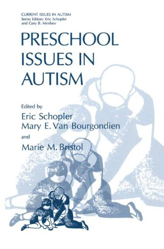 Preschool Issues in Autism (Current Issues in Autism)