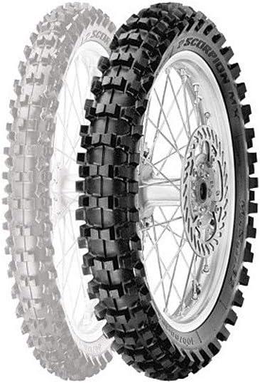 Pirelli 90//100-14 49M TT NHS Rear Tyre Scorpion MX Mid Soft 32