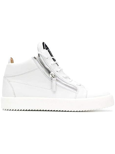 Design Bianco Ru80049002 Pelle Giuseppe Uomo Zanotti Hi Sneakers Top uTwkXOPZi