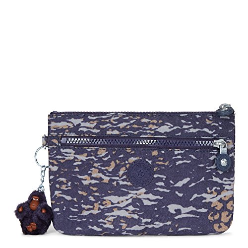 Kipling Women's Ness Small Printed Pouch One Size Water Camo by Kipling