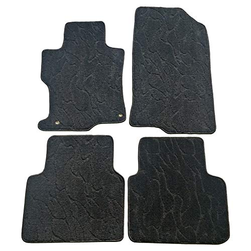 QianBao Front & Rear Nylon 4PC Car Floor Carpets Liner Floor Mat Fits Honda Accord 2008 2009 2010 2011 2012