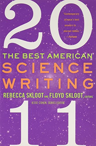 Books : The Best American Science Writing 2011