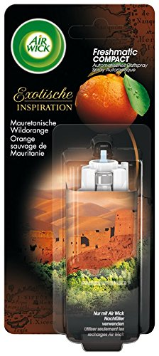 AirWick Freshmatic Compact Automatisches Duftspray Nachfüller Mauretanische Wildorange, 3er Pack (3 x 24 ml)