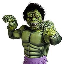 Disney Deluxe Marvel Avengers Incredible Hulk Costume Size 5-6