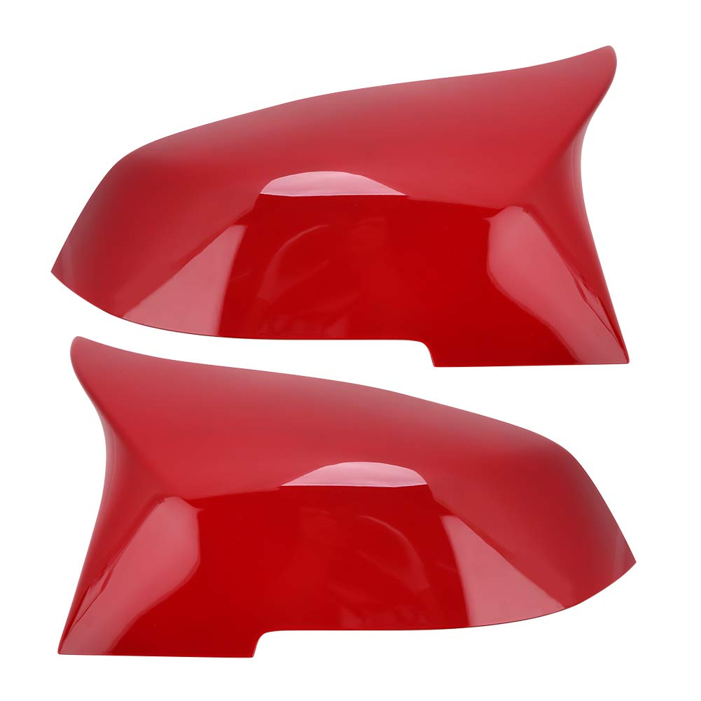 1 Pair Carbon Fiber Wing Mirror Covers Car Side Mirror Cover Caps Rear View Mirror Cover Trim for A B C E GLA Class W204 W212