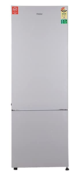 Haier 345 L 3 Star Frost Free Double Door Refrigerator  HRB 3654PSG R, Silver  Refrigerators