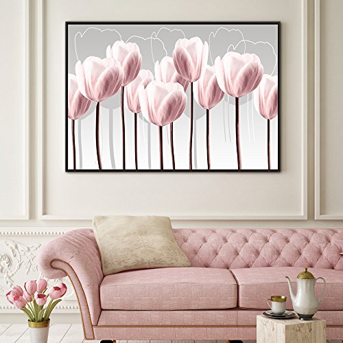 Buy abstract pink wall art