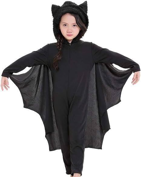 LLVV Halloween Niño Cosplay Disfraz de murciélago Lindo Disfraces ...