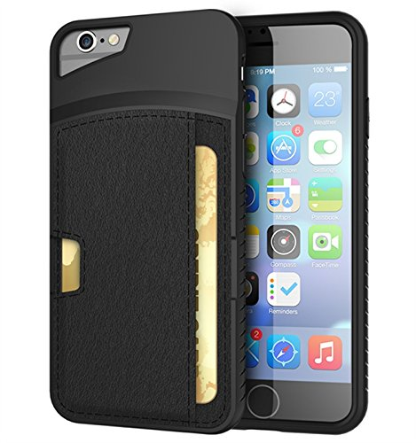 iPhone REBOOS Wallet Leather Black product image
