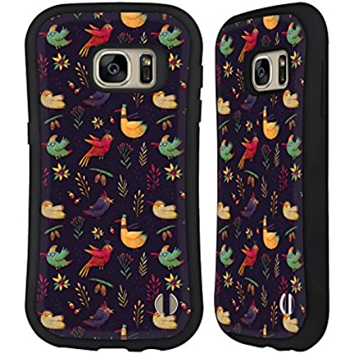 Official Oilikki Birdies Animal Patterns Hybrid Case for Samsung Galaxy S7 Sales