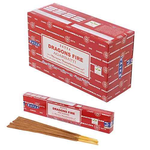 Satya Nag Champa – bastoncini di incenso Dragon Fire