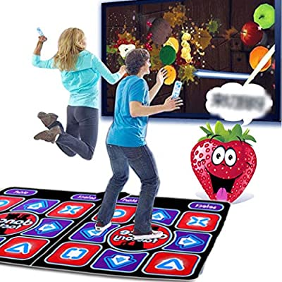 Dance mat Quality for Dancers,30mm PC-TV Dual-use Interface for Dancers Dual Human Body Wireless Dancing Machine -2020 (Color : Dazzling Purple, Size : 30mm): Home & Kitchen