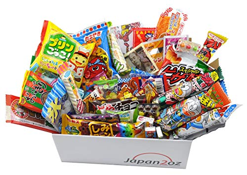 Japanisches Süßigkeiten-Set und Snack Sortiment 40 Stück #3