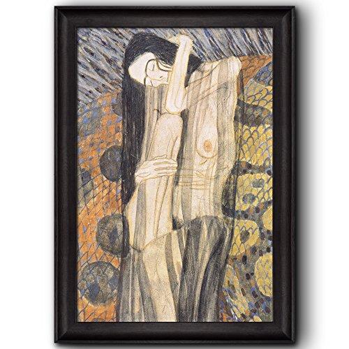 Beethoven Frieze 1902 by Gustav Klimt Framed Art