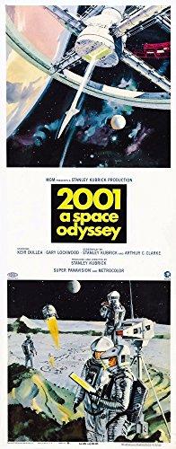 Posterazzi MINEVCMCDTWTHEC104H 2001: A Space Odyssey Us 1968 Póster de película Masterprint, 8 x 10