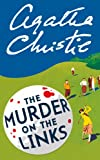 Front cover for the book Murder on the Links by Agatha Christie