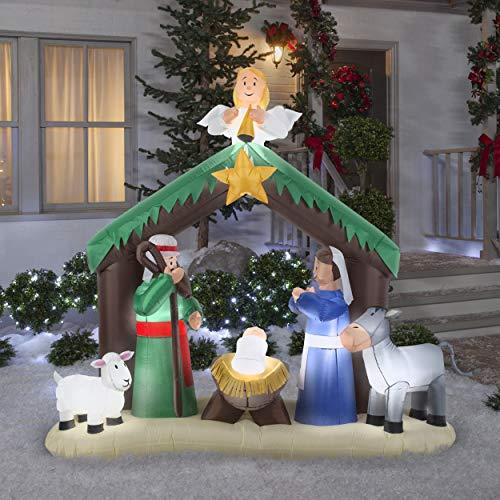 Gemmy 36707 Airblown Nativity Scene Christmas Inflatabl by Gemmy (Image #3)