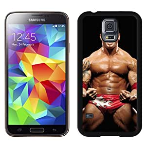 Customized Samsung Galaxy S5 I9600 Cell Phone Case Wwe Superstars Collection Wwe 2k15 Dave Batista 01 in Black Phone Case For Samsung Galaxy S5 Case
