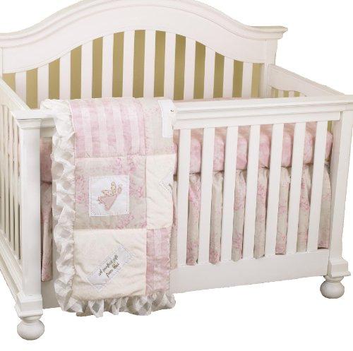 Cotton Tale Designs Heaven Sent Bedding Set, Pink/Cream, 3 P