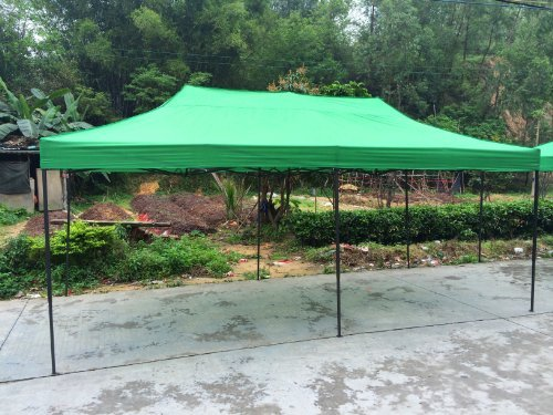 American Phoenix Canopy Tent 10x20 foot Green Party Tent Gazebo Canopy Commercial Fair Shelter Car Shelter Wedding Party Easy Pop Up - Green