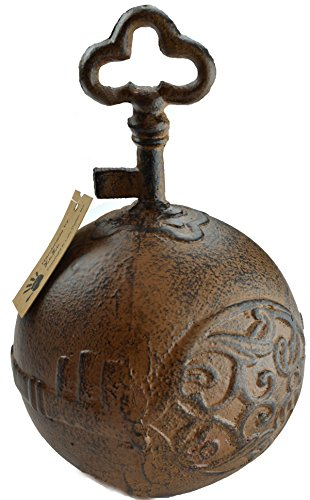 Lulu Decor, Cast Iron Door Stop, Door Stopper, Doorstops (Key)