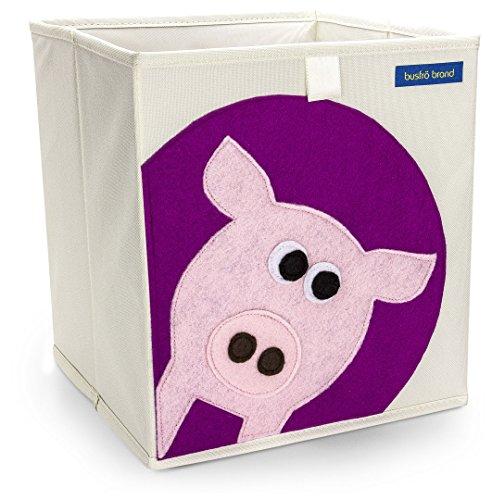 Foldable Cube Storage Bin Box for Nursery or Kids Toys