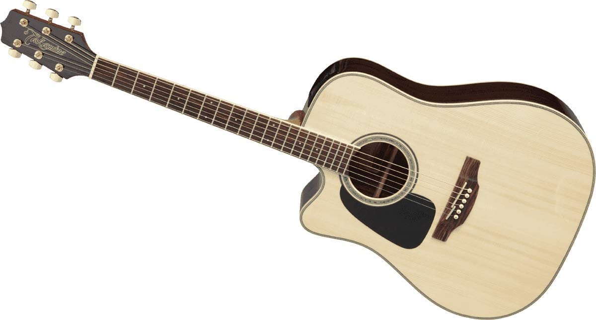 Takamine GD51CE LH NAT Left-Handed Dreadnought Cutaway Acoustic-Electric Guitar