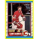 1989-90 O-Pee-Chee #7 Lanny McDonald CALGARY FLAMES