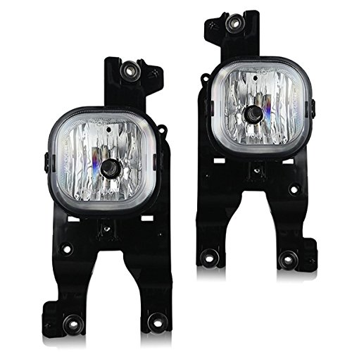 Winjet WJ30-0393-09 OEM Series Clear Lens Fog Lights [For 2008-2010 Ford F-Series Super Duty]