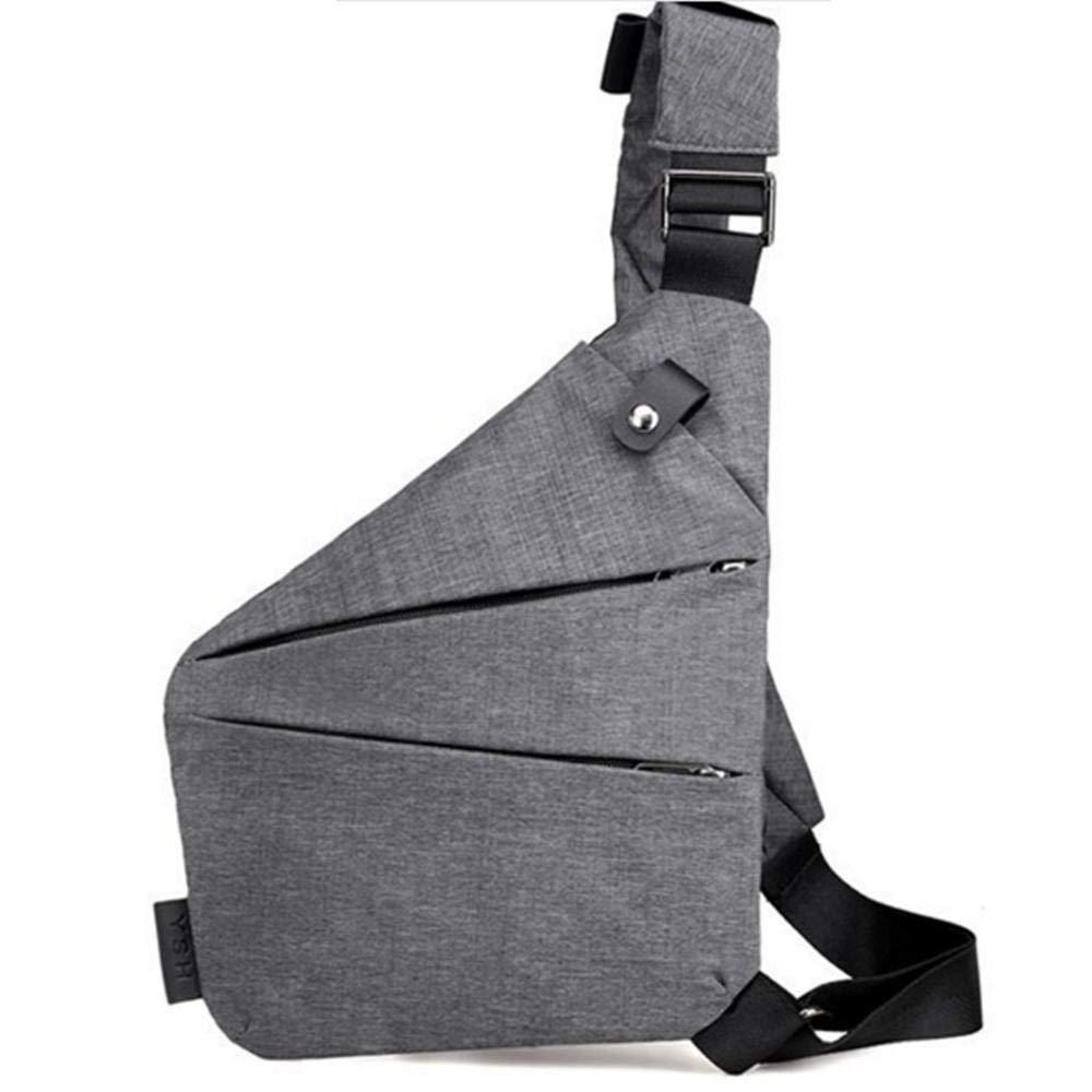 Sling Bag, Sling Shoulder Bags Backpacks Chest Crossbody Bag Pack Rucksack for Teens Men (Gray) CANDY