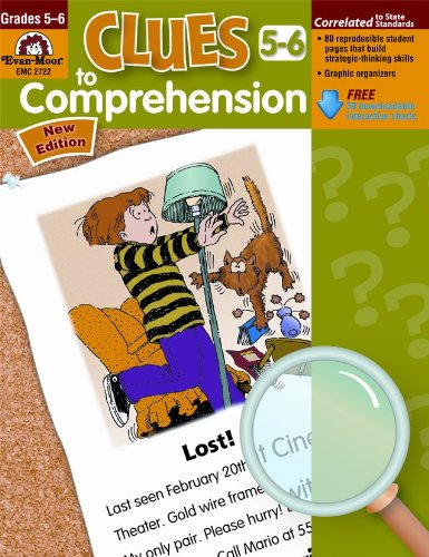 Download Clues to Comprehension, Grades 5-6 (Building Spelling) pdf