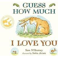猜猜我有多爱你 英文原版 软封纸板书 Guess How Much I Love You 廖彩杏书单0-3-6岁宝宝英语情商启蒙入门 儿童绘本 [平装] Anita Jeram (插图作者), Sam McBratney (作者) [平装] Anita Jeram (插图作者)