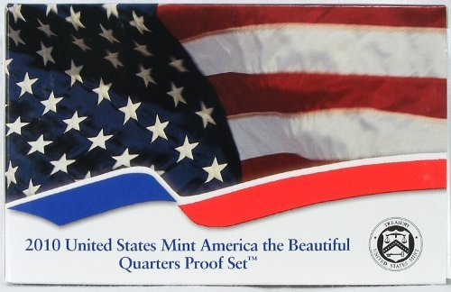 2010 America's Beautiful National Parks Quarters Proof Set in Box