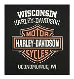 Harley-Davidson Men's Distressed Shady Skull Short
