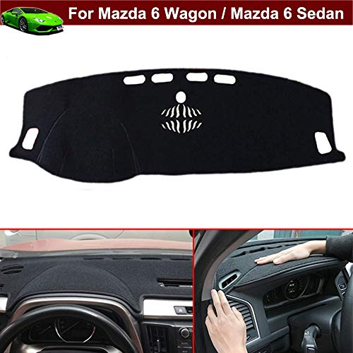 - Kaitian New 1pcs Non-Slip Design Dash Covers Dashboard Cover Sun Visor Cover DashMat Dash Mat Dash Carpet Custom Fit for Mazda 6 Wagon/Mazda 6 Sedan 2015 2016 2017 2018 2019 2020